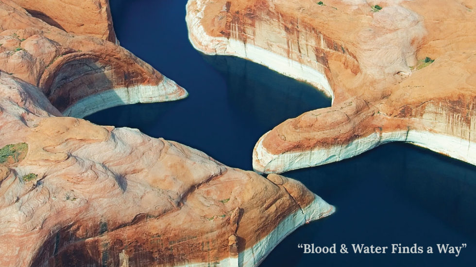 "A Poem: ""Blood and Water Finds a Way"""